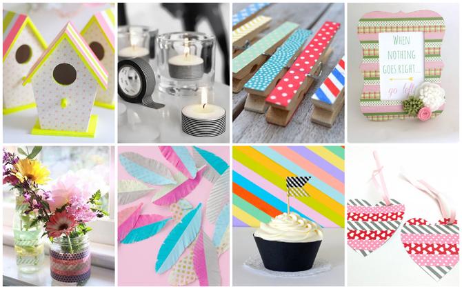 DIY-project #3 - knutselen met washi tape u2022 Miss Murphy